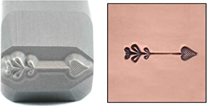 Heart Arrow Metal Design Stamp, 8.75mm Punch Stamping Tool for Hand Stamped DIY Jewelry Crafts - Beaducation Original Metal Design Stamps