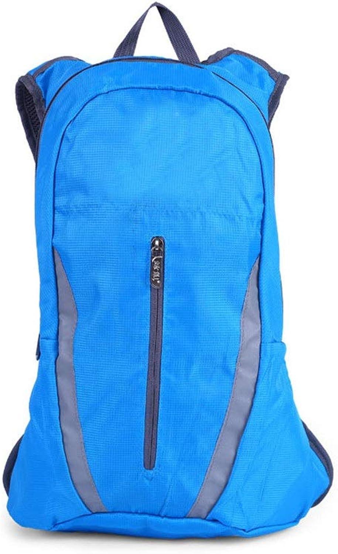 Chengzuoqing Reiserucksack Bergsteigen-Beutel-Rucksack-Reiten-Rucksack, der im Freien kampierende wandernde Sport-Segeltuch-Tasche wandert Camping, Wandern, Wandern, Klettern, Klettern (Farbe   Blau)