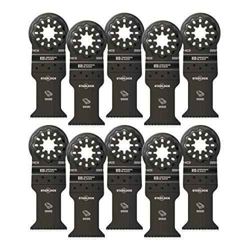 Check Out This Imperial Blades IBSL200-10 Starlock 1-3/8 Standard Wood Blade, 10PC