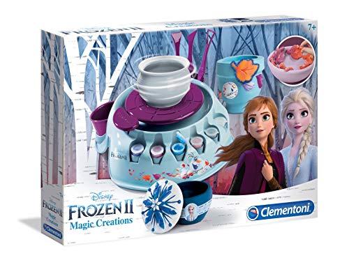 Clementoni 18519 Frozen 2-Töpferscheibe, Mehrfarben