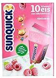 sunquick - Wassereis zum Selbsteinfrieren Himbeere - 10St/650g -