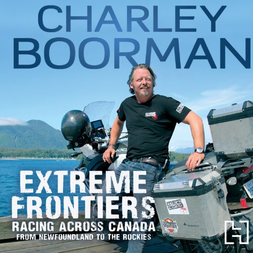 Extreme Frontiers audiobook cover art