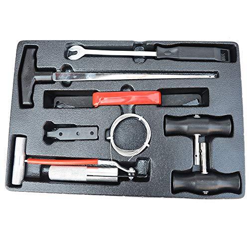 DIYARTS 7 Stücke Auto Windschutzscheibe Removal Tools Kit mit Aufbewahrungsbox Perfekt für Auto Fenster Windschutzscheibe Demontage Demontage Werkzeuge