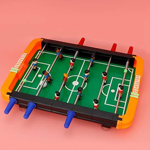 ROMACK Mesa de futbolín de Juego Mesa de fútbol Adecuada para Juegos interactivos de 2-4 Personas