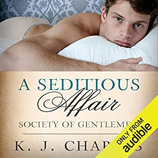 A Seditious Affair audiobook cover art