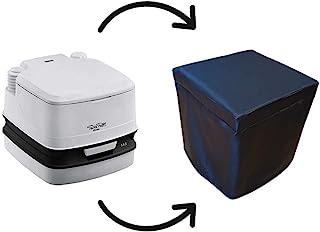 KFoam.es Funda Cubre Potti Polipiel Negro para Thetford Porta Potti 145 y 345 o para Fiamma BI Pot 30