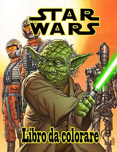 Star Wars libro da colorare