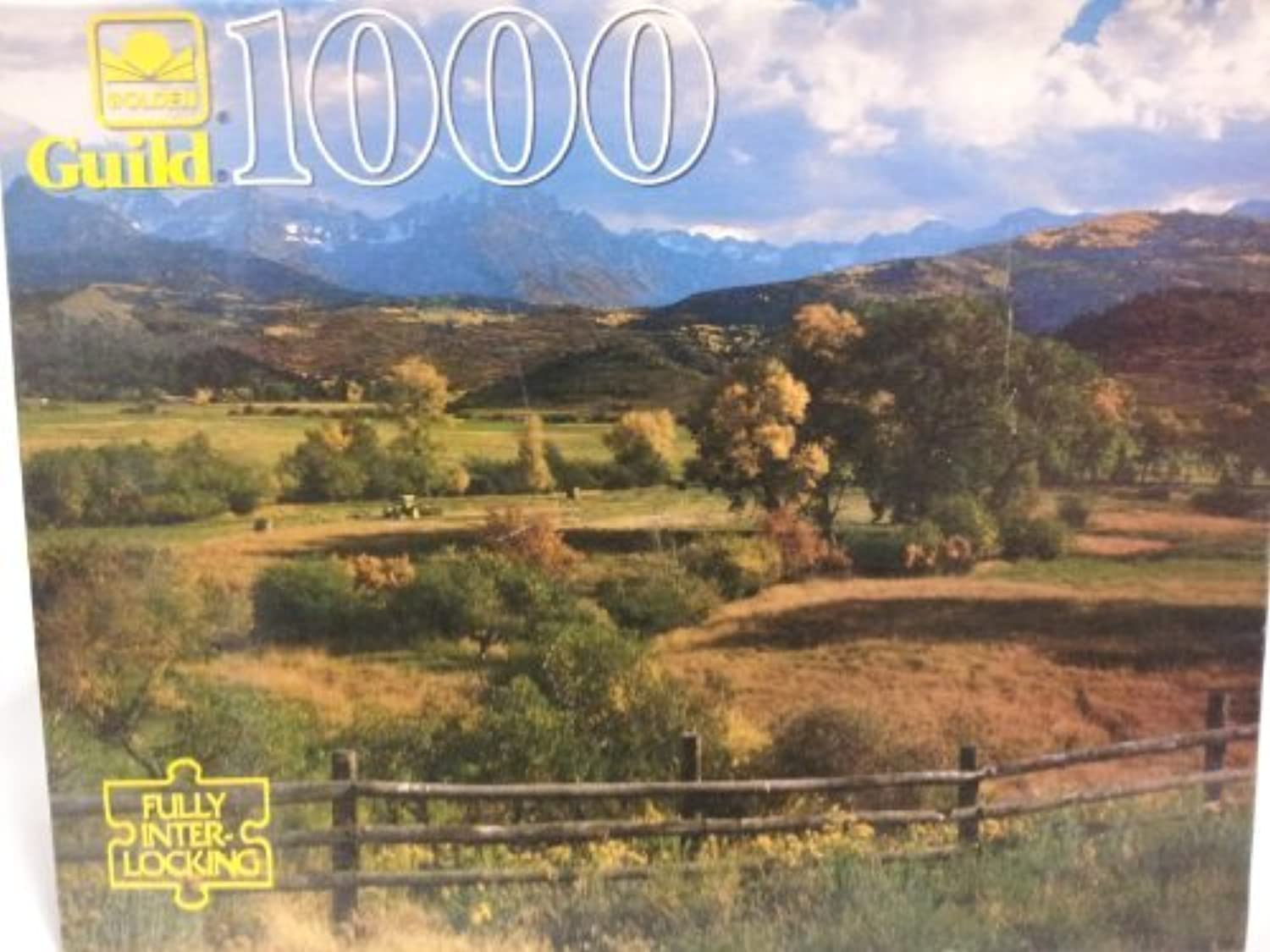 Guild 1000 Piece Puzzle - Nature's Contrasts by Unknown by Unknown