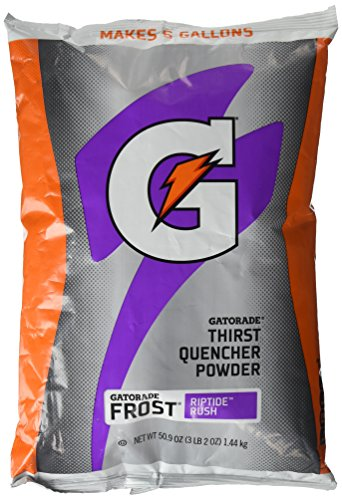 Gatorade Thirst Quencher Powder Purple Frost Riptide Rush, 50.9 oz