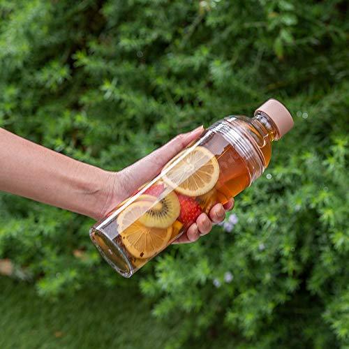 HARIO(ハリオ)フィルターインボトルポータブルスモーキーグリーン樹脂製縦横400ml茶こし付きFIBP-40-SG
