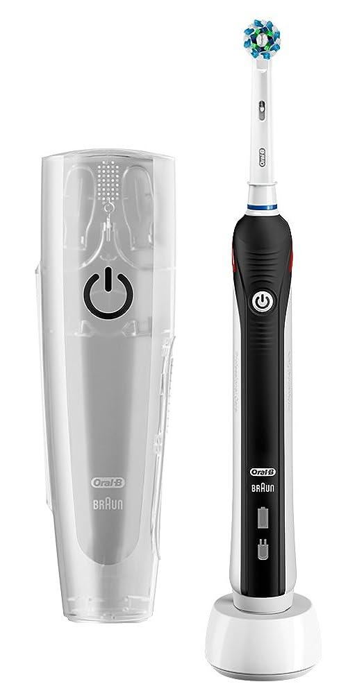 きしむ層文化ブラウン オーラルB 電動歯ブラシ PRO1000 D205132MX BK ブラック
