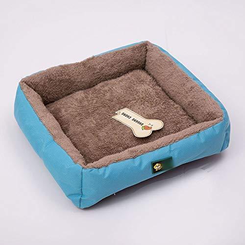 FANCYKIKI Simple Nido para mascotas Nido del cachorro del animal doméstico Nido del sofá cama del animal doméstico Perrera de felpa con espuma de memoria Mascotas Abrazadera redonda Nido del sofá Sofá
