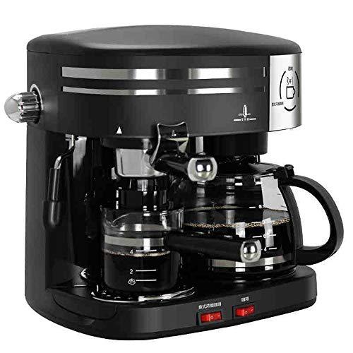 TL Kaffee-Maschine, amerikanische Espressomaschine Drip Kaffeemaschine Automatische Steaming-Maschine