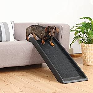 Safety 39″ Pet Stairs Dog Steps Ramp Cat Ladder Portable Step Folding Cover