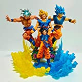 Dragon Ball Super Goku Ultra Instinct Super Saiyan Scene Figuras De Acción Anime Dragon Ball Z Goku Modelo Figura De Juguete Dbz Diorama Dragon Ball Super Goku Ultra Instinct Super Saiyan Scene Figura