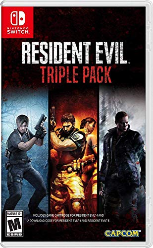 [Switch] Resident Evil Triple Pack - $37.73 at Amazon & Walmart