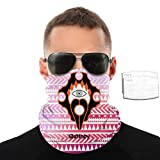 Sin Symbol Gluttony Unisex Multi-Functional Face Mask Windproof Dust Proof Neck Scarf Contain Inside Pocket