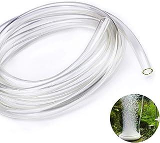 Tubo Pvc,Tubo de Silicona Transparente, Tubo Flexible de PVC Transparente,10 mm (Diámetro Interior) x 12 mm (Diámetro Exterior), para Transferencia de Líquido y Gas,2 Metro de Longitud.