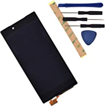 E6853 LCD Touch Assembly LCD Display Touch Screen Digitizer Complete Replacement for Sony Xperia Z5 Premium E6833 E6883 Black with Frame Adhesive[ Without Frame ]