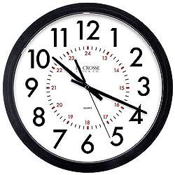 Geneva 14-Inch Quartz Wall Clock