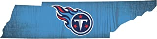 Fan Creations NFL Wood Sign 12 Inch State Shape Design