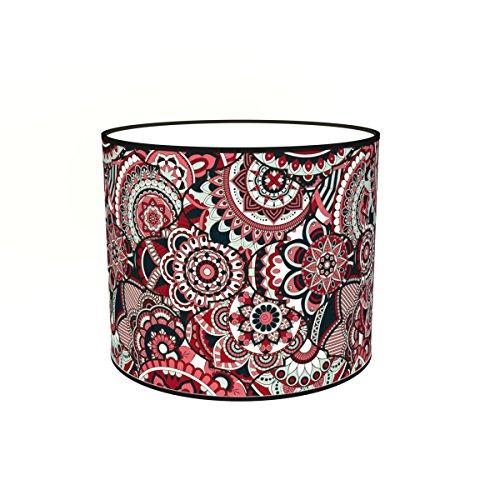 Abat-jours 7111305783000 Imprimé Magna Lampadaire, Tissus/PVC, Multicolore