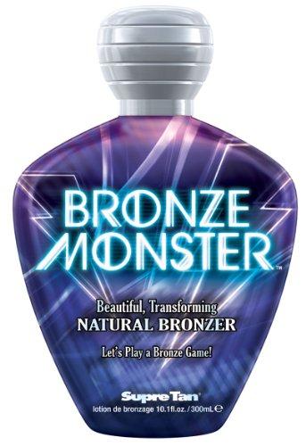 2012 Supre BRONZE MONSTER Natural Streak-free Bronzer Tanning Lotion 10.1 oz.