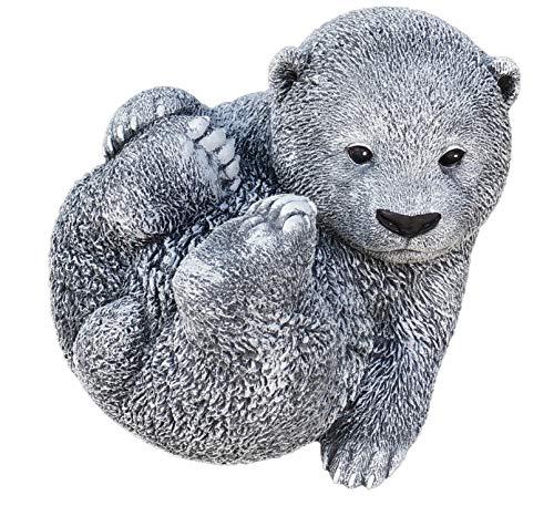 Statue grand ours, au gel et aux intempéries-massif en pierre