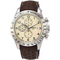 Tissot V8 Chronograph Automatic Cream Dial Men's Watch