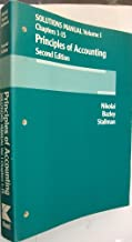 Solutions Manual Volume 1, Chapters 1-15. Principles of Accounting