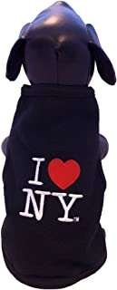 i love new york dog hoodie