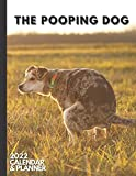 The Pooping Dog: 2022 Calendar & Planner. Daily, Weekly and Monthly Organizer. Funny Dog Lover Gifts