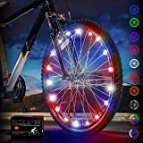 Activ Life Bike Lights (1 Wheel, Patriotic) Fitness Gifts for Men Who Have Everything Best Son...