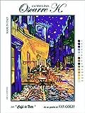 Oscarre K. gobelins Krainer Kit para Bordar Canamazo Estampado para Medio Punto Van Gogh Cafe Terrace at Night 23x30 Cod K60S
