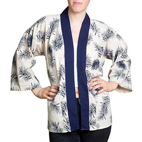 PANASIAM Japanse kimono jas Unisex Happi Haori van 100% katoen