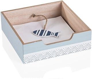 MONTEMAGGI Mini cassettiera in legno con 3 ripiani 17x12x32 cm Variante unica