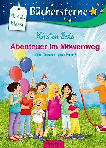 Abenteuer im Möwenweg: Wir feiern ein Fest: Mit 16 Seiten Leserätseln und -spielen (Büchersterne)