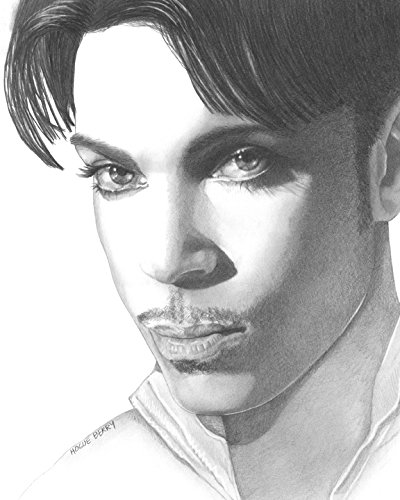 Prince, Prince Rogers Nelson, 8x10 Art Print by Wendy Hogue Berry
