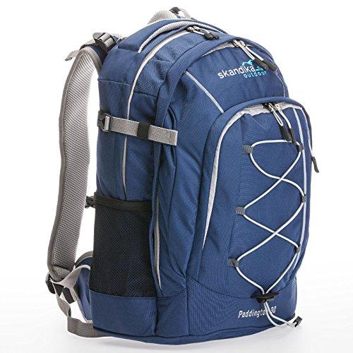Skandika Paddington Zaino Escursionismo Blu 30 Litri Nuovo
