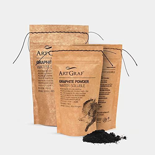 Art Graf 500947 - Polvo soluble en agua, color gris
