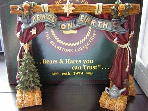Boyds Bears & Friends Nativity Series  4 THE STAGE From The Bearstone Collection by The Boyds Collection Ltd.