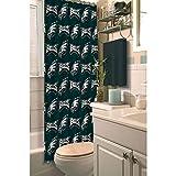 Officially Licensed NFL Philadelphia Eagles Shower Curtain, 72' x 72', Multi Color