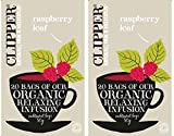 2 bolsas de té de Clipper - Organic Raspberry Leaf Tea - 20