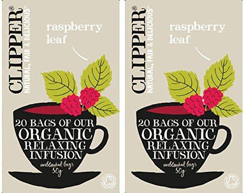 (2er BUNDLE)| Clipper - Organic Raspberry Leaf Tea -20bag
