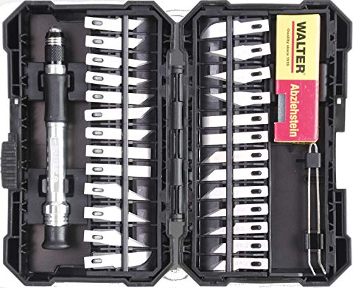 Skalpell Bastel Präzisions Modelbau Messer Set 29-teilig Modellbau
