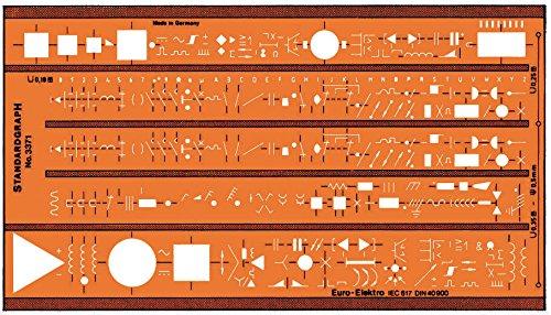 Schablone Euro-Elektro IEC617 - Sonstige Produkte
