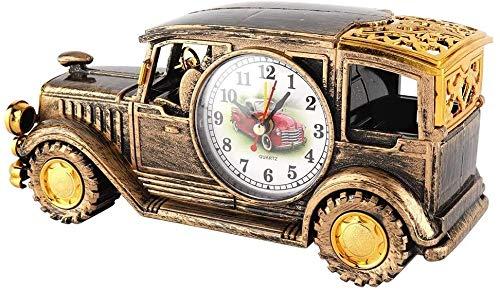 SGSG Alarma Clockantique Reloj Multifunción Escritorio Reloj De Alarma Clásico Vintage Coche Reloj Digital Regalo con Titular De La Pluma