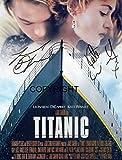 Limited Edition Leonardo Di Caprio Kate Winslet Signiert