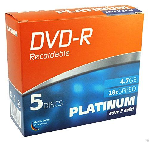 Platinum DVD-R 4,7GB 16x 10er Slimcase 102567