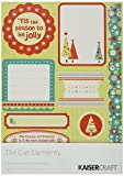 Kaisercraft Christmas Carnival Die Cut Elements, 8.25-Inch by 6-Inch, 2 Per Package